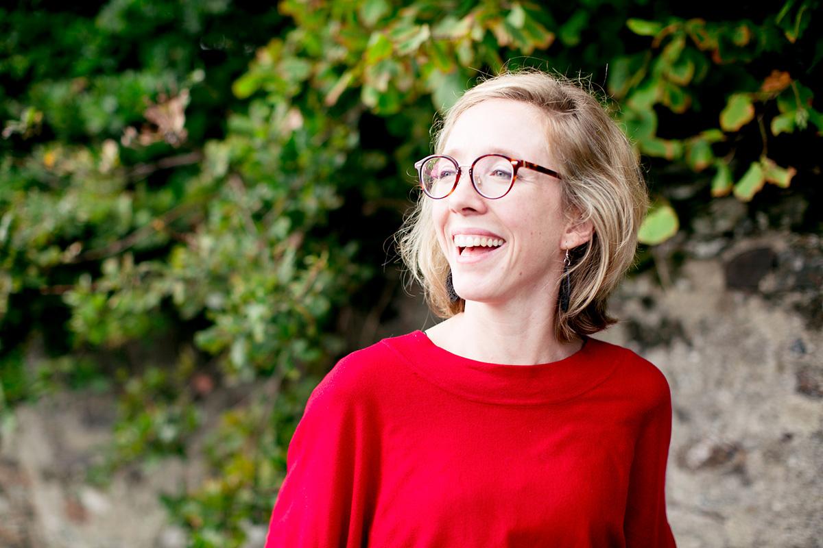 Laetitia, votre opticienne à Avrillé Lunettes au logis