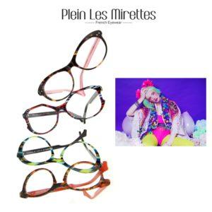 Lunettes colorées pour femme made in france