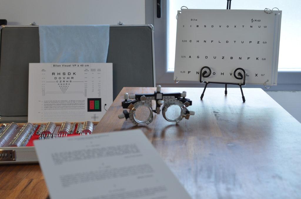 que fait un opticien examen de vue contrôle de la vue