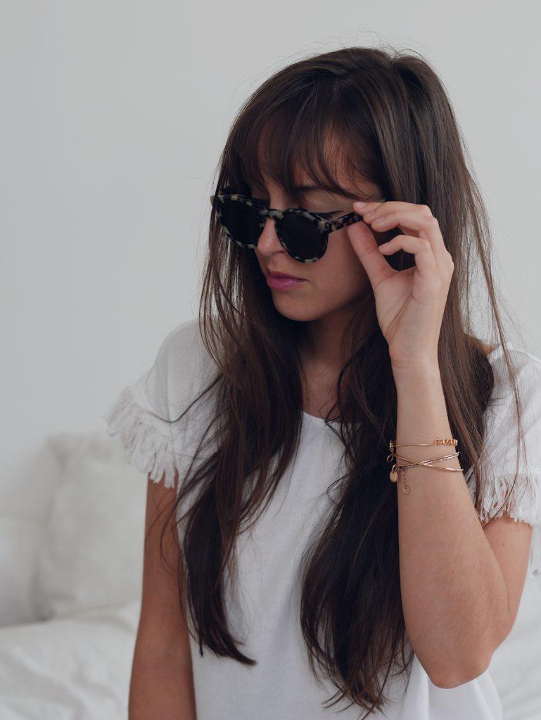 lunettes de soleil et nolwenn crenn