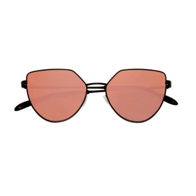 lunettes de soleil miroir rose