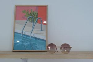 lunettes solaire Blanc lunettes au logis