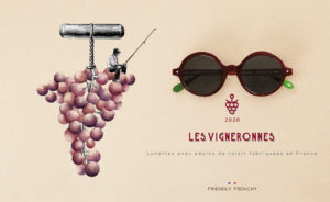 lunettes écologiques Friendly Frenchy faites en France en coquillage les vigneronnes