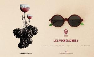 lunettes écologiques Friendly Frenchy faites en France en coquillage