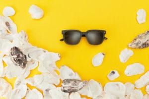 lunettes solaire écologiques Friendly Frenchy faites en France en coquillage