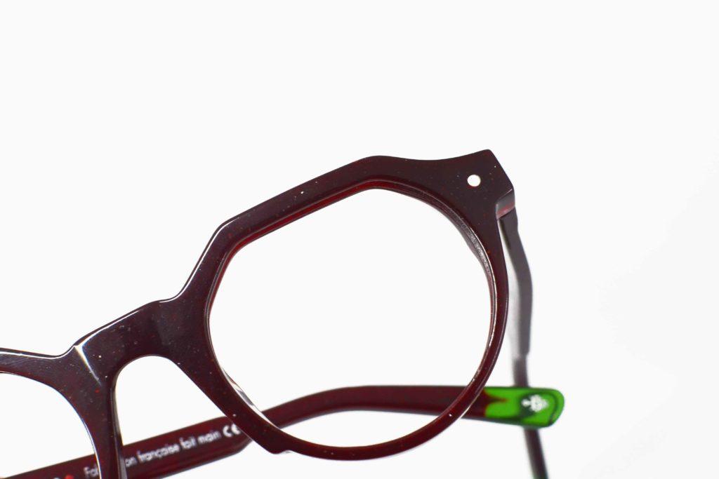 lunettes écologiques en coquillage et pépins de raisin 2021